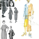 Young Woman,Character and Costume Design