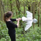 Barred Owl Puppet