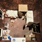 Model Box for 'Crimes of Passion: The Story of Joe Orton'