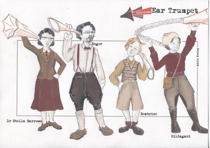 Ear Trumpet Costume Designs