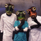 Frog Masks (Designer and Fabricator)